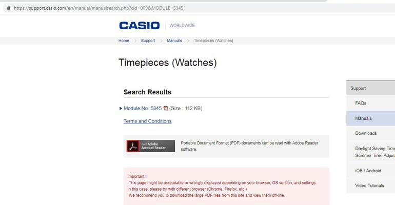 Toàn Tập Cách Phân Biệt Đồng Hồ Casio Thật Giả Dễ Và Nhanh Nhất Tìm Module