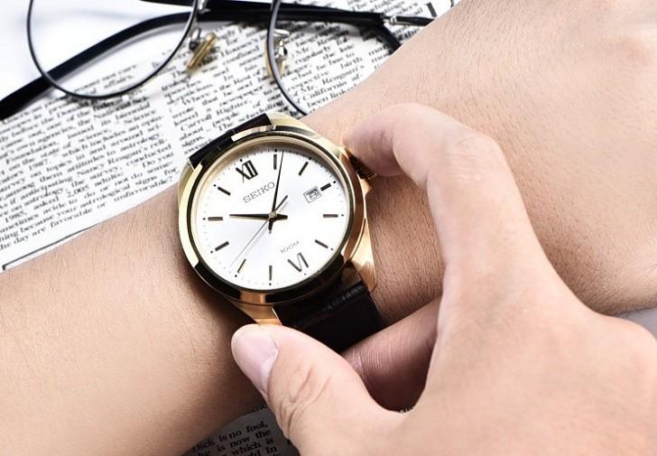 Đồng hồ Seiko SUR284P1 giá rẻ, thay pin miễn phí trọn đời - Ảnh 6
