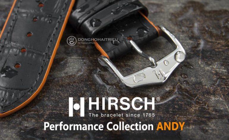 """Ai Đã Sản Xuất Dây Da """"Gốc"""" Cho Các Thương Hiệu Đồng Hồ Thụy Sĩ? Hirsch Andy"""