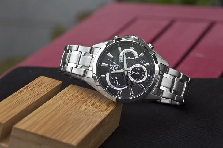 Đồng hồ Casio EFV-580D-1AVUDF giá rẻ, thay pin miễn phí - Ảnh 1