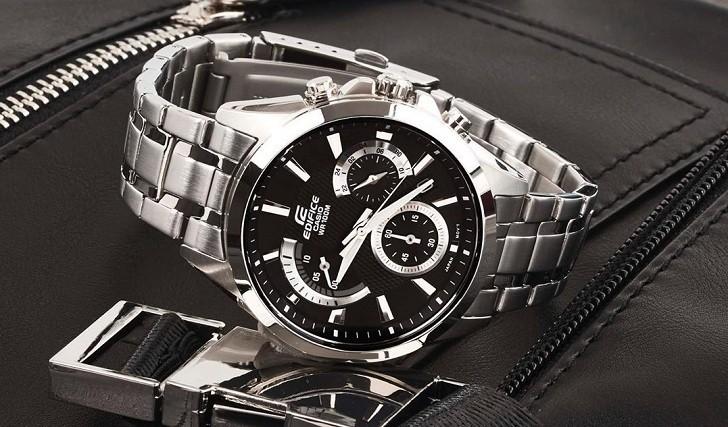 Đồng hồ Casio EFV-580D-1AVUDF giá rẻ, thay pin miễn phí - Ảnh 6