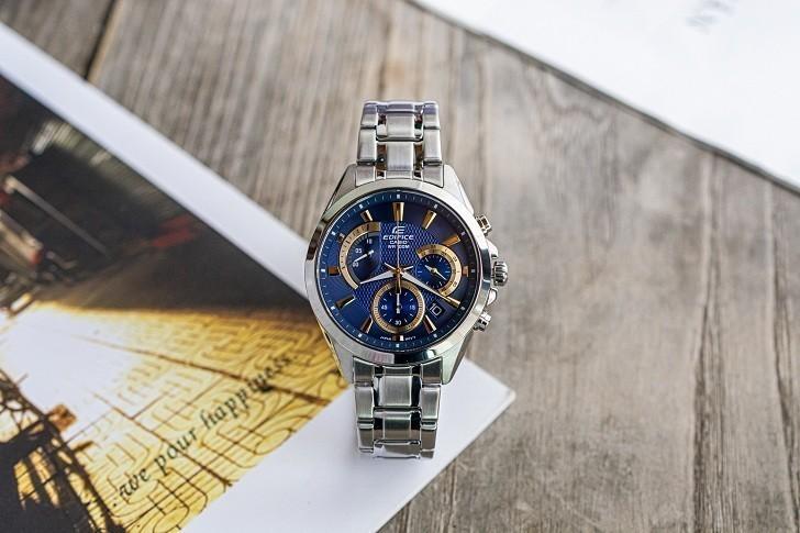 Đồng hồ Casio Edifice EFV-580D-2AVUDF chronograph wr100m - Ảnh: 5
