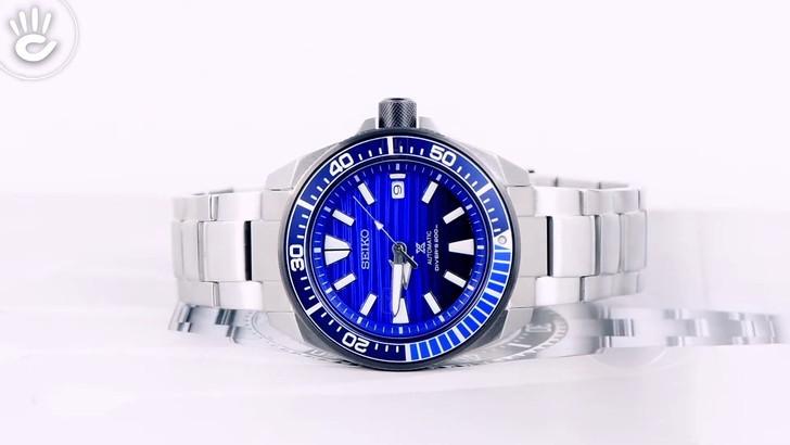 Đồng hồ Seiko SRPC93K1 máy cơ tự động, chống nước đến 20ATM - Ảnh 7