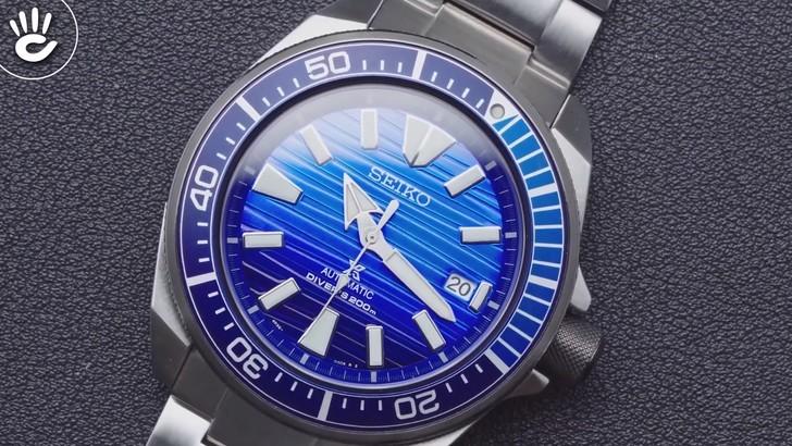 Đồng hồ Seiko SRPC93K1 máy cơ tự động, chống nước đến 20ATM - Ảnh 3