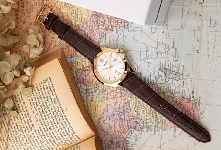 Đồng hồ Seiko SUR284P1 giá rẻ, thay pin miễn phí trọn đời - Ảnh 4