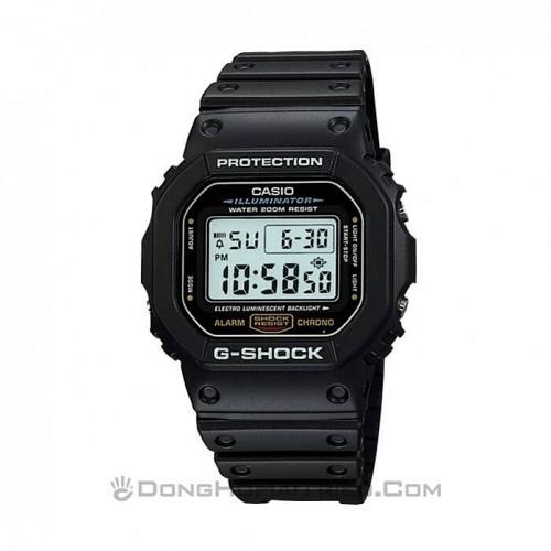 200+ Mẫu Đồng Hồ Điện Tử G-Shock Chính Hãng Giá Rẻ, Từ 1 Triệu - G-Shock DW-5600E-1VDF