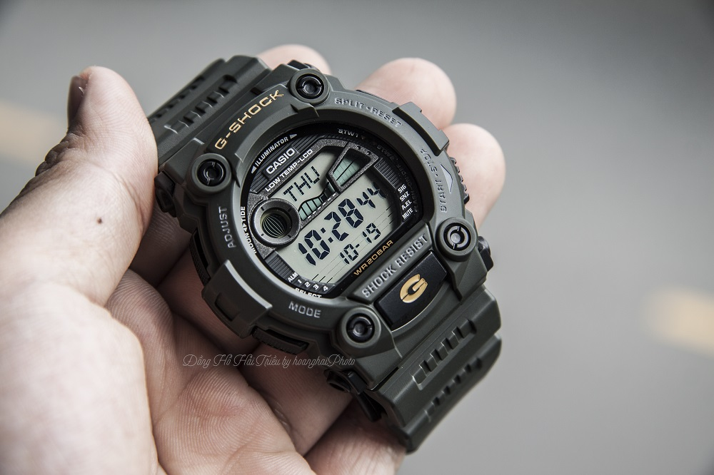 200 mau dong ho dien tu g shock chinh hang gia re tu 1 trieu G-Shock G-7900-3DR