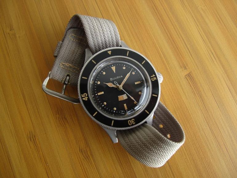 6 mẫu đồng hồ quân đội Mỹ đã dùng trong chiến tranh Việt Nam Bulova Mil-Ships-W-2181
