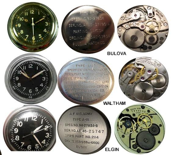 6 mẫu đồng hồ quân đội Mỹ đã dùng trong chiến tranh Việt Nam A-11