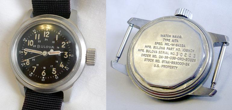 6 mẫu đồng hồ quân đội Mỹ đã dùng trong chiến tranh Việt Nam Bulova A17 Korean War
