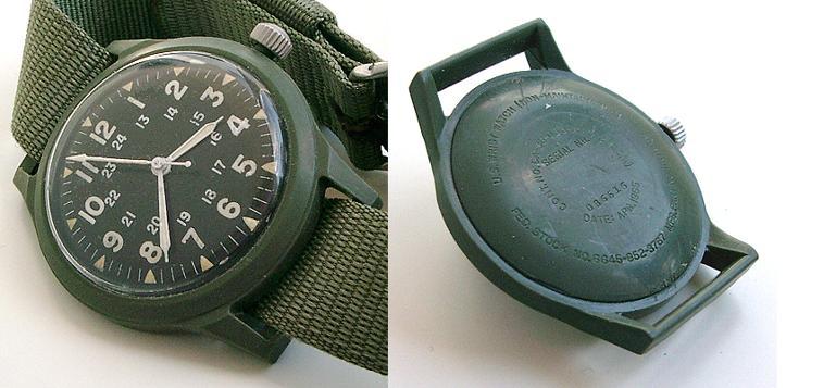 6 mẫu đồng hồ quân đội Mỹ đã dùng trong chiến tranh Việt Nam Belforte/Benrus MIL-W-46374