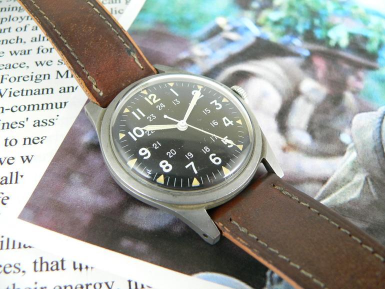 6 mẫu đồng hồ quân đội Mỹ đã dùng trong chiến tranh Việt Nam Benrus DTU-2A/P