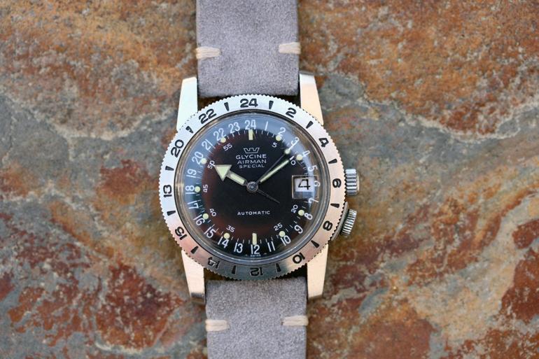 6 mẫu đồng hồ quân đội Mỹ đã dùng trong chiến tranh Việt Nam Glycine Airman Special