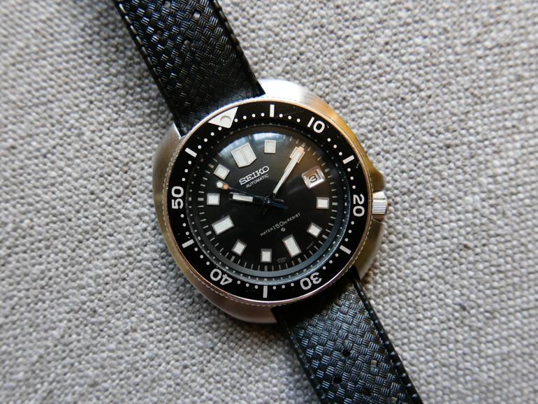 6 mẫu đồng hồ quân đội Mỹ đã dùng trong chiến tranh Việt Nam Seiko 6105