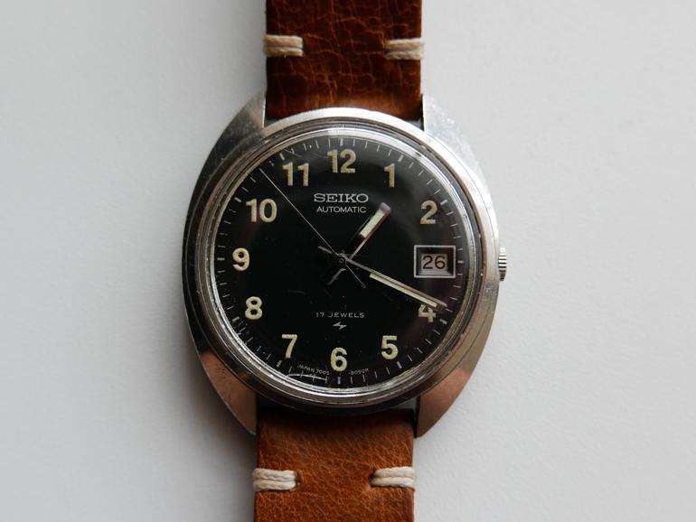 6 mẫu đồng hồ quân đội Mỹ đã dùng trong chiến tranh Việt Nam Seiko 7005-8030