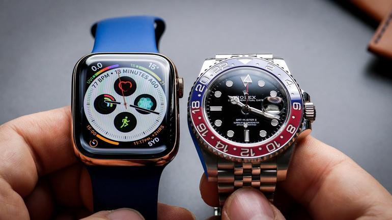 7 Thứ Quan Trọng Khi So Sánh Smartwatch Với Đồng Hồ Truyền Thống Apple Rolex