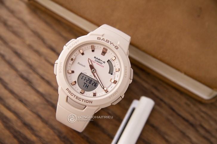 Đồng hồ Baby-G BSA-B100-4A1DR giá rẻ, miễn phí thay pin - Ảnh: 1