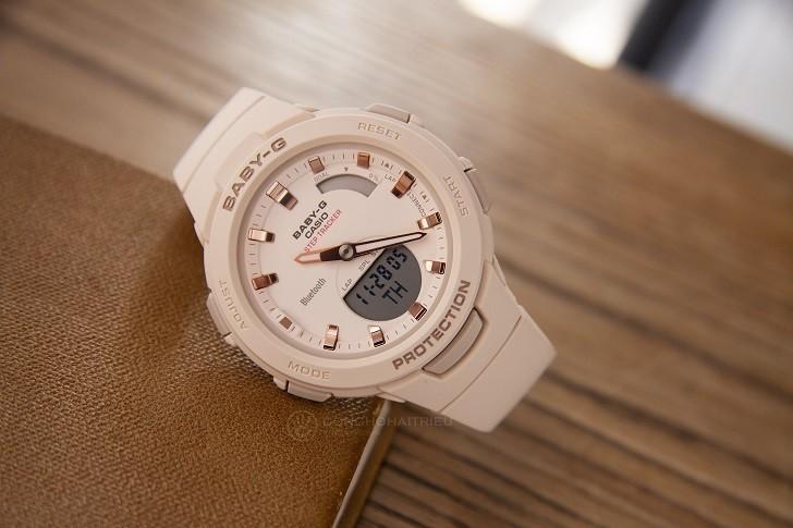 Đồng hồ Baby-G BSA-B100-4A1DR giá rẻ, miễn phí thay pin - Ảnh: 6