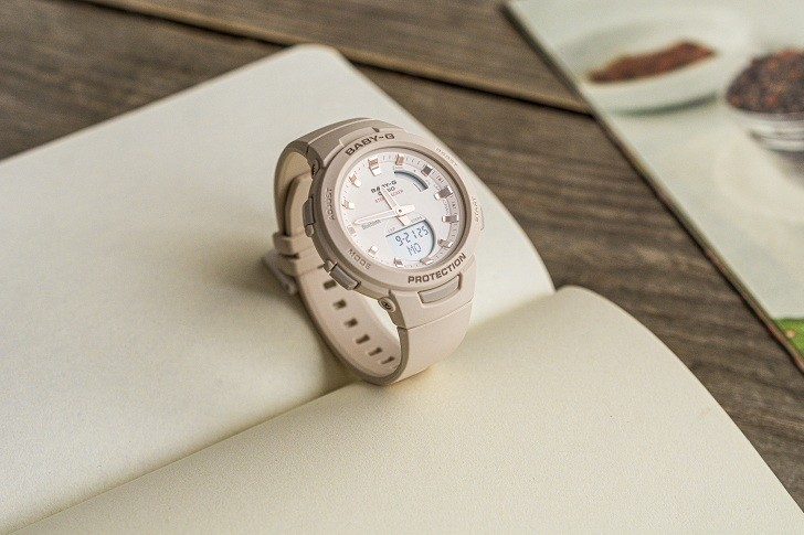 Đồng hồ Baby-G BSA-B100-4A1DR giá rẻ, miễn phí thay pin - Ảnh: 3