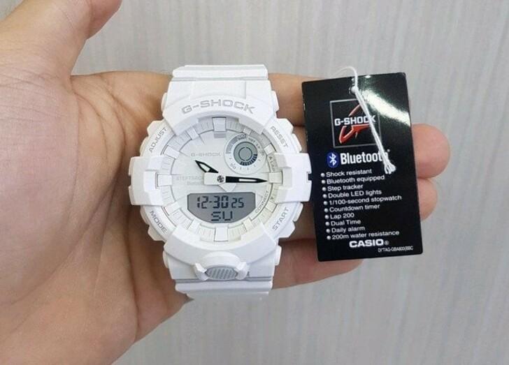 Đồng hồ nam Casio GBA-800-7ADR giá rẻ, thay pin miễn phí - Ảnh 1