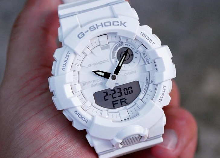 Đồng hồ nam Casio GBA-800-7ADR giá rẻ, thay pin miễn phí - Ảnh 4