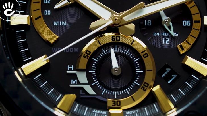 Đồng hồ Casio EQS-910D-1BVUDF máy năng lượng ánh sáng bền bỉ - Ảnh 6