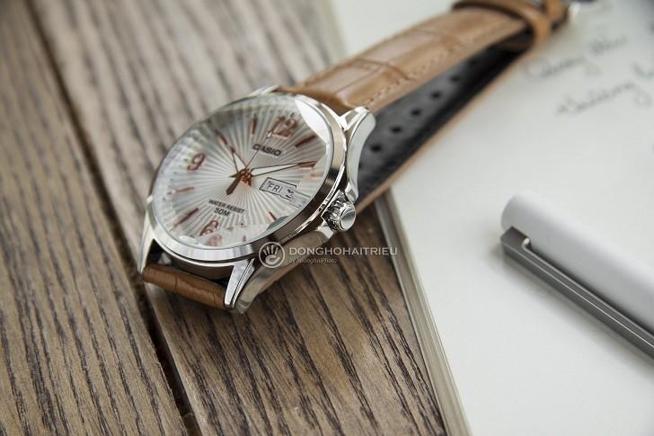 Đồng hồ Casio MTP-E120LY-7AVDF sở hữu mặt số lạ mắt - Ảnh 3