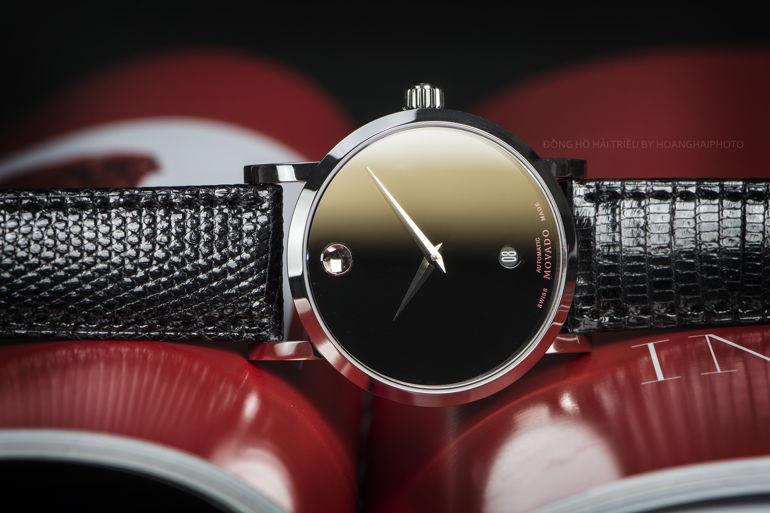 Đồng hồ minimalist là gì? Vì sao được nhiều thương hiệu trẻ sử dụng? MOVADO Red Label 0606114