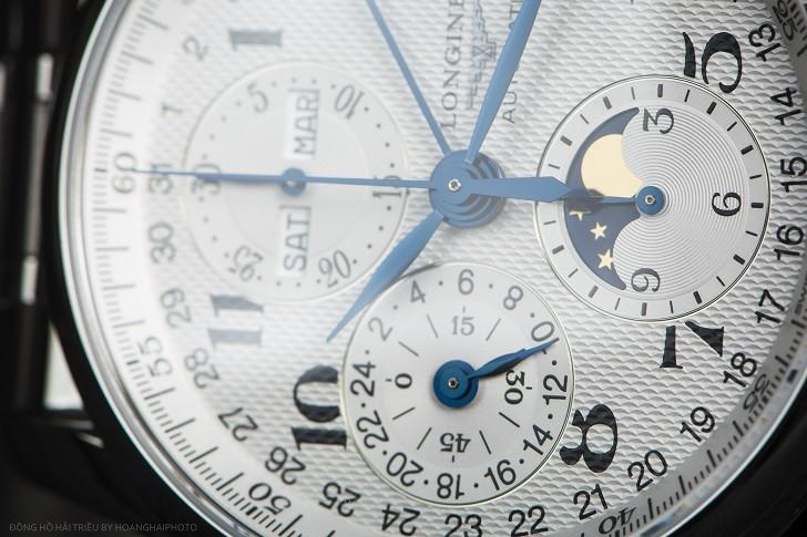 Longines L2.673.4.78.6 Có: Chronograph, Lịch Trăng Và Trữ Cót 54 Giờ 7