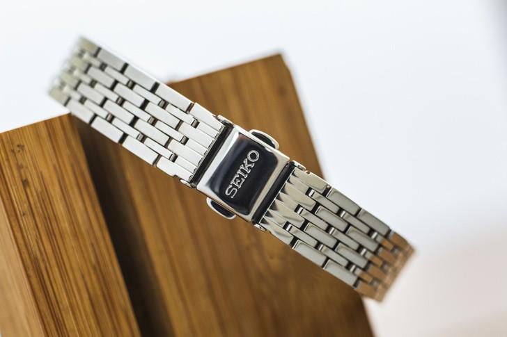 Đồng hồ Seiko SFQ803P1 thời trang, đính đá pha lê sang trọng - Ảnh 4