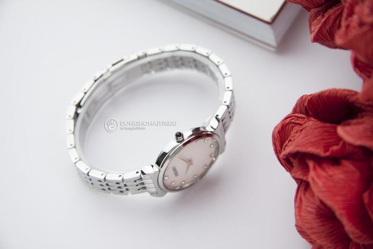 Đồng hồ Seiko SFQ803P1 thời trang, đính đá pha lê sang trọng - Ảnh 5