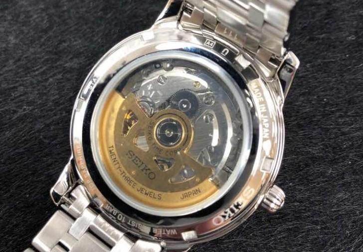 Đồng hồ Seiko SRP857J1 giá rẻ, thay pin miễn phí trọn đời - Ảnh 4