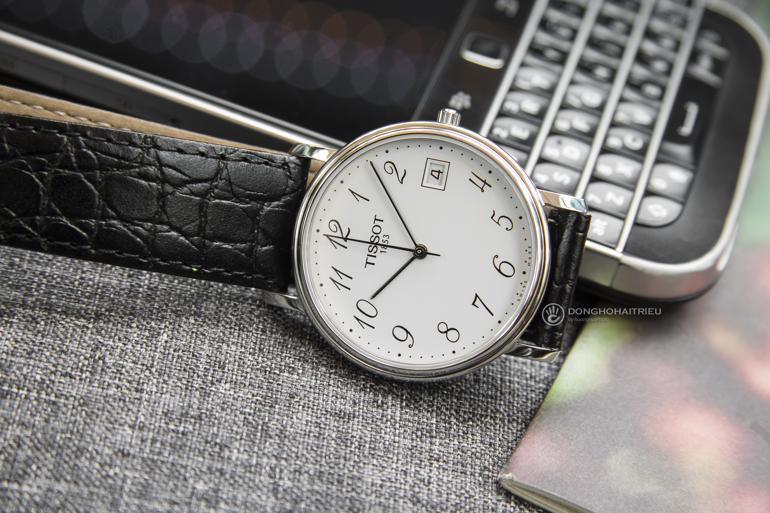 Tổng hợp các dòng đồng hồ Tissot giá rẻ nhất: Rẻ như đồng hồ Nhật Desire Tissot T52.1.421.12