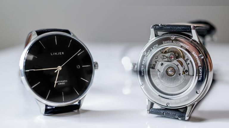 """5 thương hiệu đồng hồ Hồng Kông nổi tiếng """"được lòng"""" cả thế giới Linjer The Automatic"""