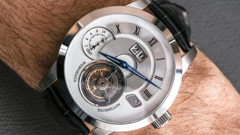 """5 thương hiệu đồng hồ Hồng Kông nổi tiếng """"được lòng"""" cả thế giới Memorigin Grand Series AT 1003 Tourbillon"""