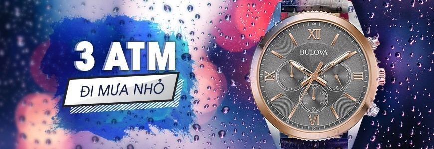 Đồng hồ chịu nước 3ATM