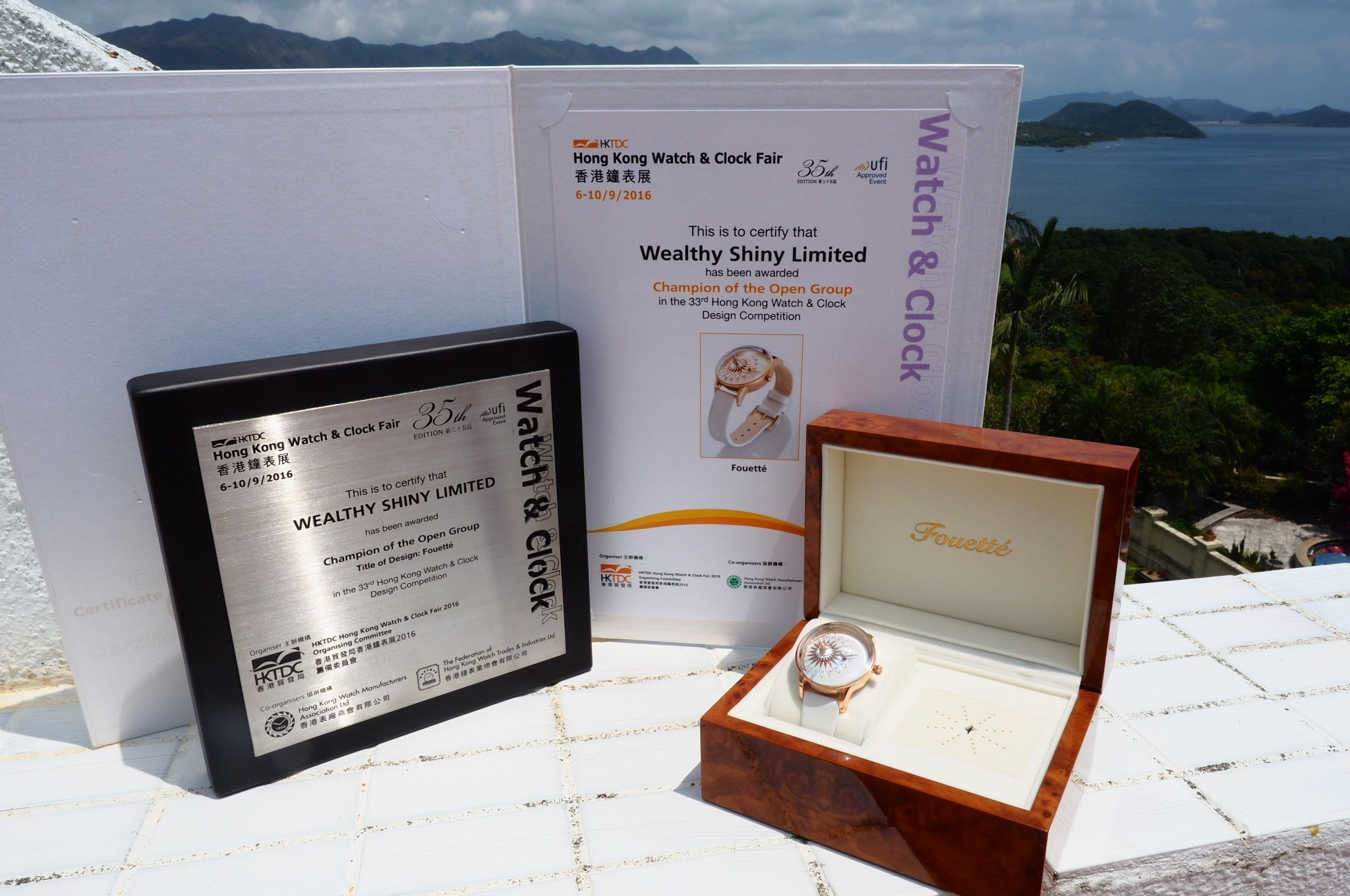 Đồng hồ ba lê Fouetté Ballerina, một kiệt tác đoạt giải thiết kế giải vô địchHong Kong Watch & Clock Design Competition