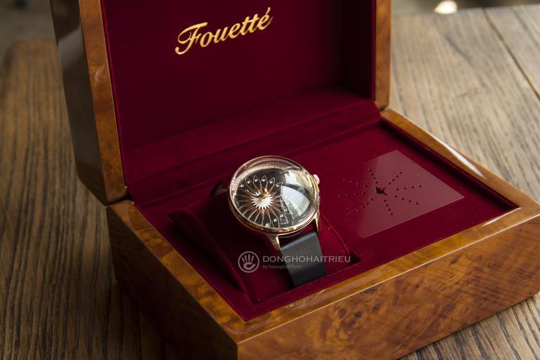 Đồng hồ ba lê Fouetté Ballerina, một kiệt tác đoạt giải thiết kế Hộp nhạc cơ Fouetté Ballerina