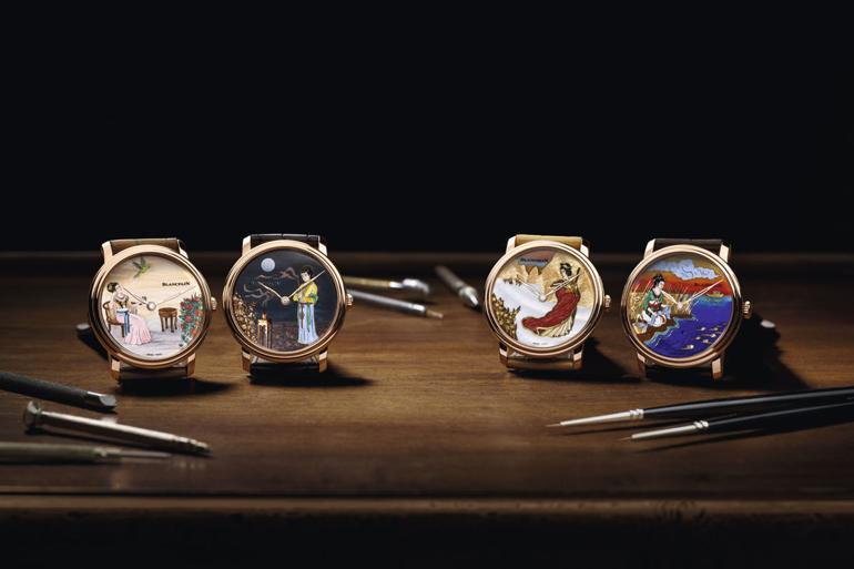 Đồng hồ ba lê Fouetté Ballerina, một kiệt tác đoạt giải thiết kế Blancpain tứ đại mỹ nhân