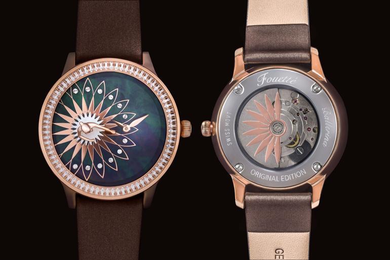Đồng hồ ba lê Fouetté Ballerina, một kiệt tác đoạt giải thiết kế Fouetté OR-5