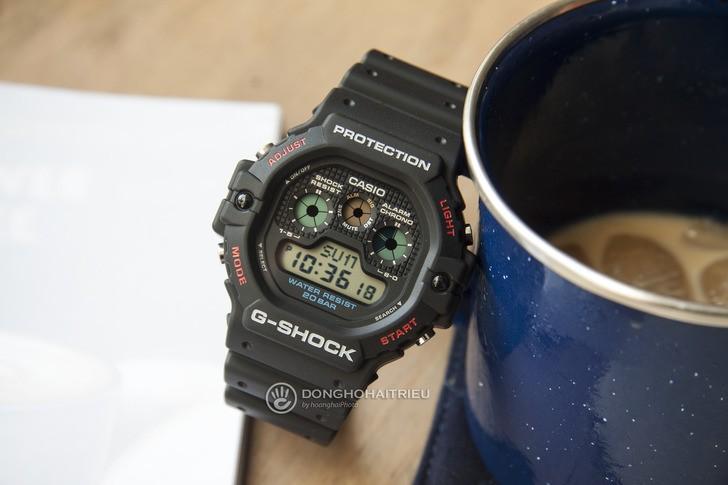 """Đồng hồ G-Shock DW-5900-1DR - """"Robot 3 mắt"""" đầy mạnh mẽ - Ảnh 6"""