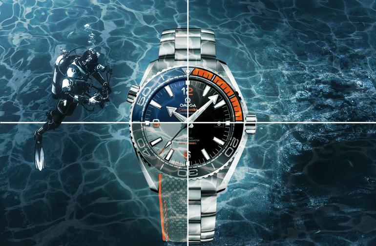 Top 5 dòng đồng hồ Omega nam nổi tiếng nhất - Omega Planet Ocean