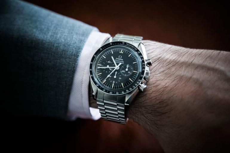 Top 5 dòng đồng hồ Omega nam nổi tiếng nhất - Omega Speedmaster Moonwatch