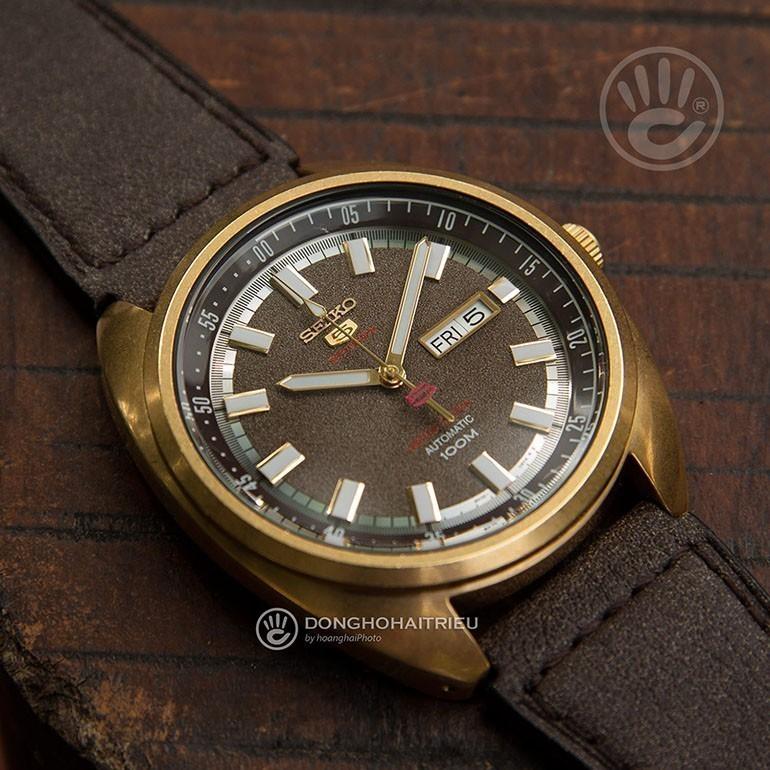 Đồng hồ luôn là lựa chọn quà tặng hàng đầu dành cho nam - SEIKO SRPB74K1