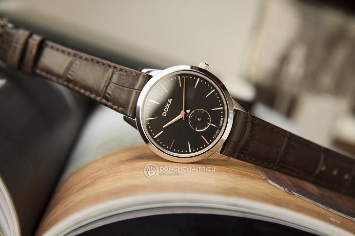 5 lý do nữ giới nên chọn đồng hồ Doxa D156SBK - Ảnh 1