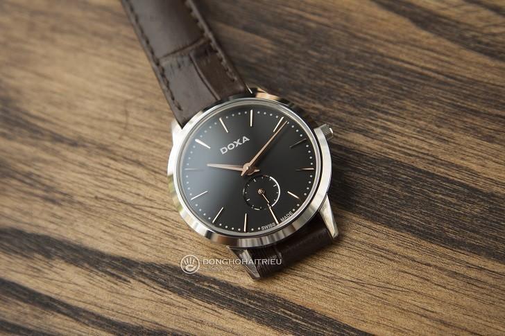 5 lý do nữ giới nên chọn đồng hồ Doxa D156SBK - Ảnh 3