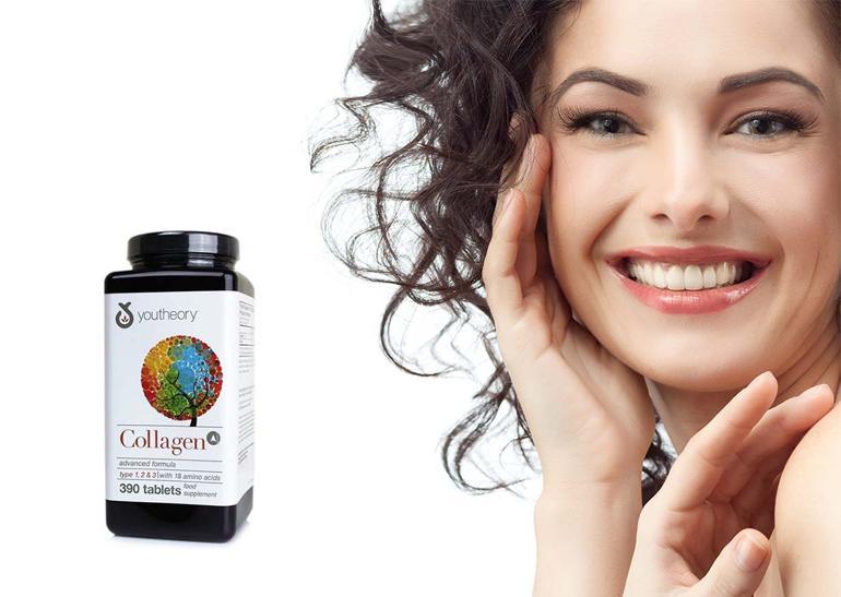 quà tặng sinh nhật bạn gái độ tuổi 24-30 - Viên uống Collagen