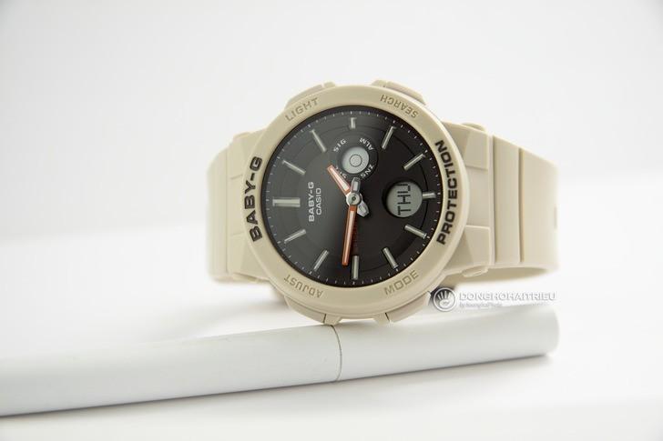 Đồng hồ Baby-G BGA-255-5ADR: Ấn tượng với thiết kế nữ tính - Ảnh 1