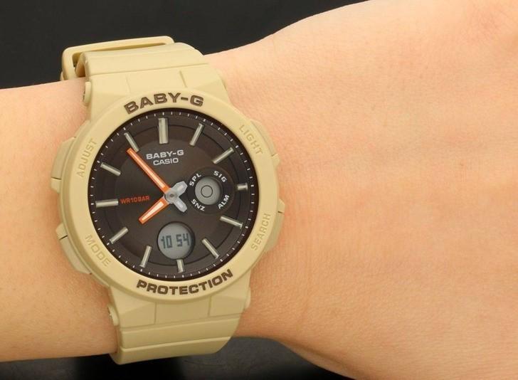 Đồng hồ Baby-G BGA-255-5ADR: Ấn tượng với thiết kế nữ tính - Ảnh 3