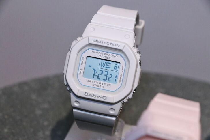 Đồng hồ Baby-G BGD-560-7DR Màu trắng trang nhã và nữ tính - Ảnh 2